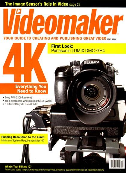 Videomaker Cover - 5/1/2014
