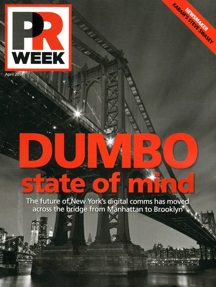 PRWeek Cover - 4/1/2014