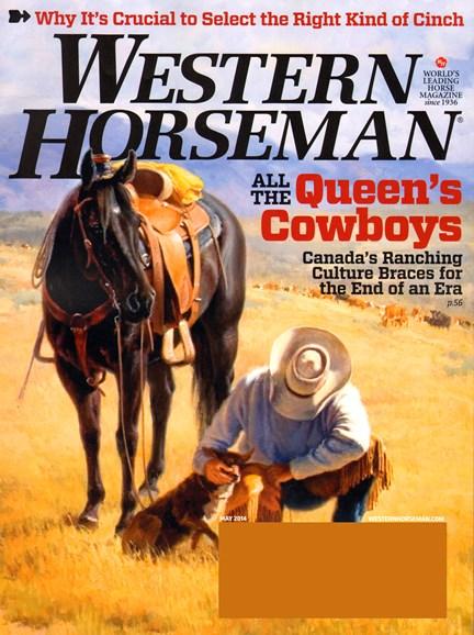 Western Horseman Cover - 5/1/2014