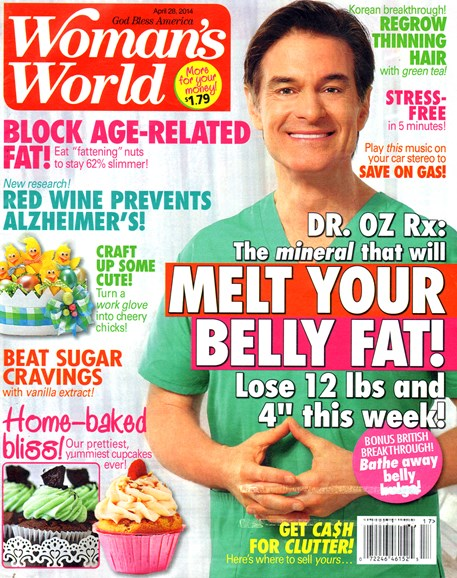 Woman's World Cover - 4/28/2014
