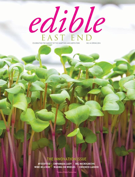 Edible East End Cover - 4/1/2014