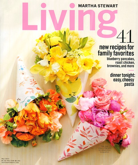 Martha Stewart Living Cover - 5/1/2014