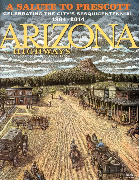 Arizona Highways Cover - 5/1/2014