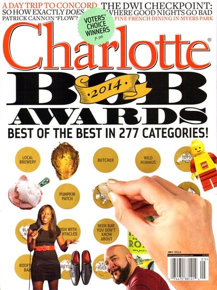 Charlotte Magazine Cover - 5/1/2014