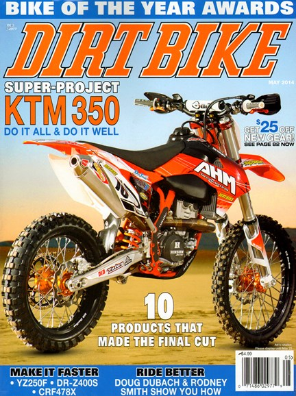 Dirt Bike Cover - 5/1/2014