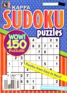 Blue Ribbon Kappa Sudoku Puzzles Magazine 7/1/2014