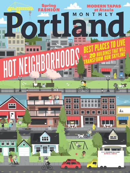 Portland Monthly Cover - 4/1/2014
