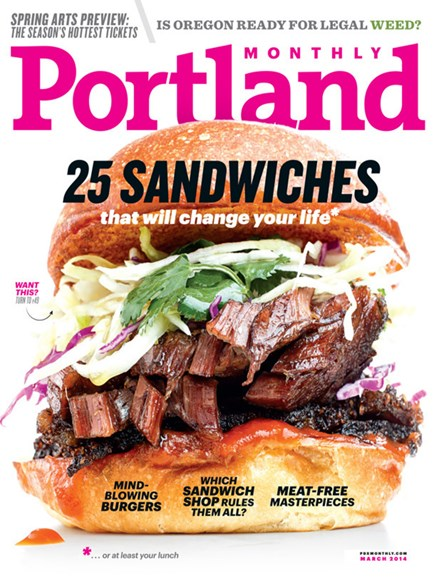 Portland Monthly Cover - 3/1/2014