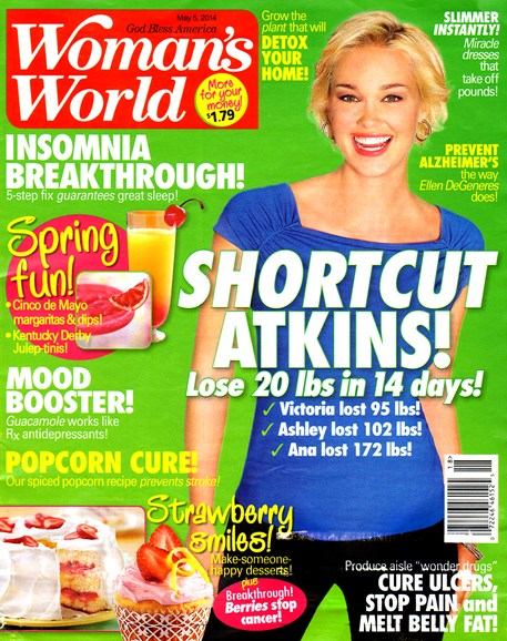 Woman's World Cover - 5/5/2014