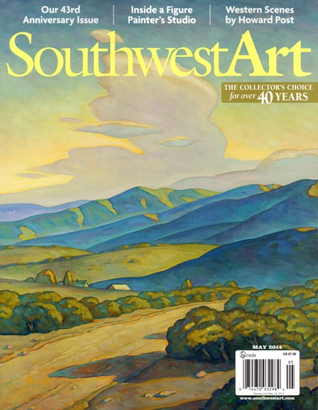 Southwest Art Cover - 5/1/2014