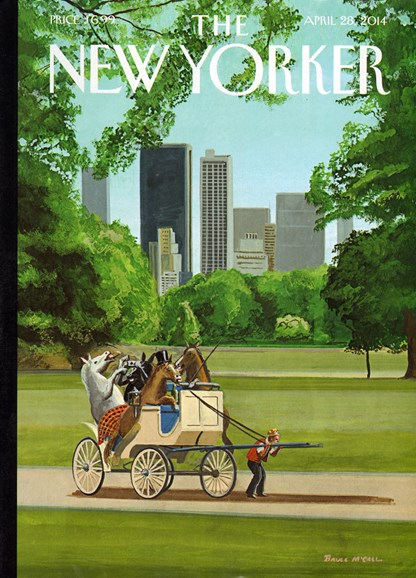 The New Yorker Cover - 4/28/2014