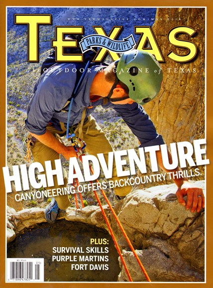 Texas Parks & Wildlife Cover - 5/1/2014