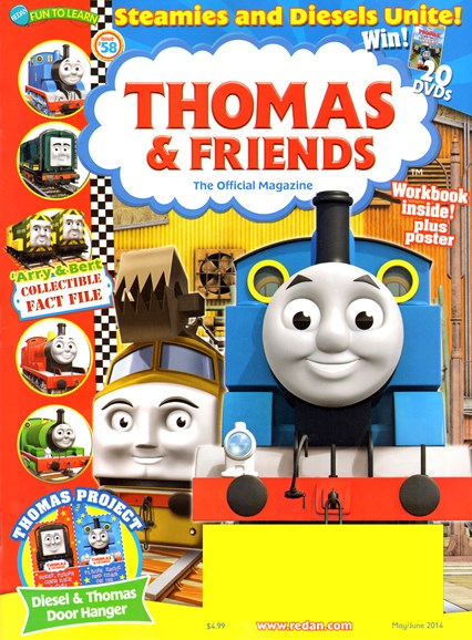 Thomas & Friends Cover - 5/1/2014