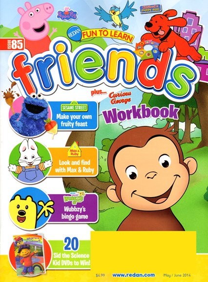 Preschool Friends Cover - 5/1/2014
