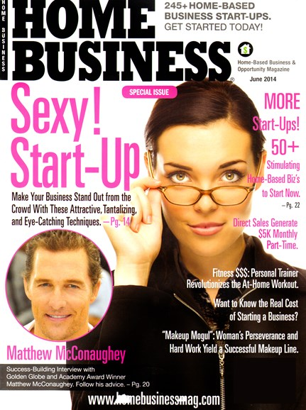 Home Business Magazine Cover - 6/1/2014