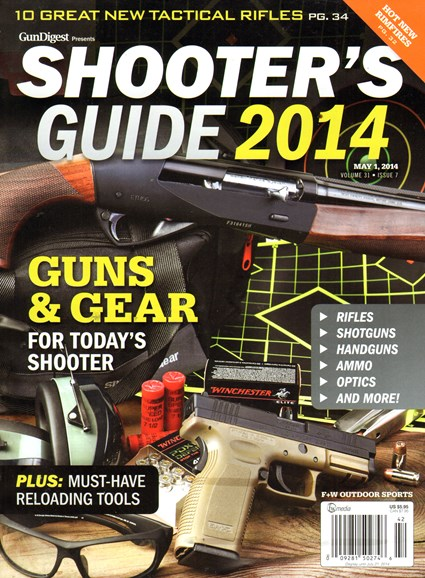 Gun Digest Cover - 5/1/2014