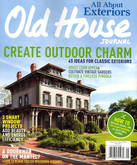 Old House Journal Cover - 5/1/2014