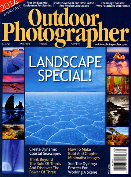 Outdoor Photographer Cover - 5/1/2014