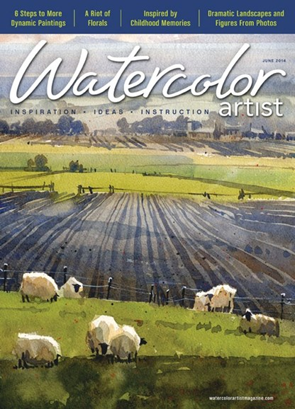 Watercolor Artist Cover - 6/1/2014
