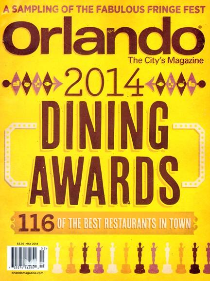 Orlando Magazine Cover - 5/1/2014