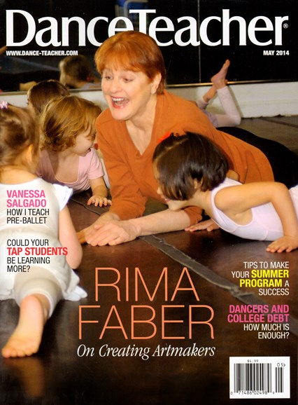 Dance Teacher Cover - 5/1/2014