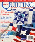 Mccall's Quilting Magazine 5/1/2014