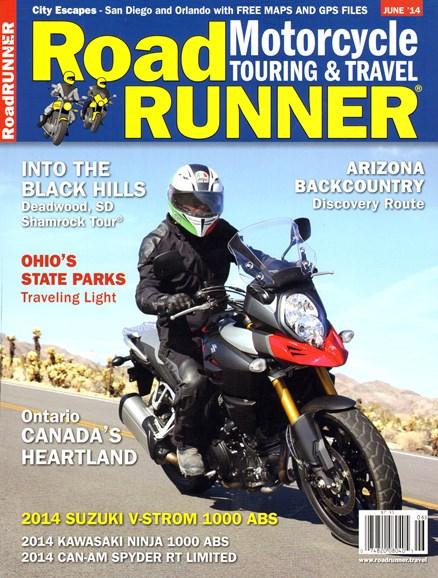 Road RUNNER Motorcycle & Touring Cover - 6/1/2014