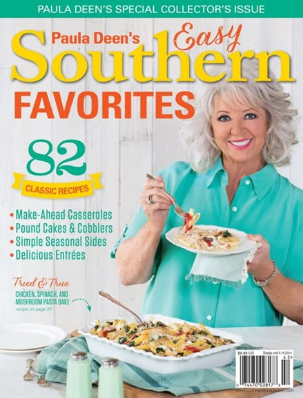 Cooking With Paula Deen Cover - 4/1/2014