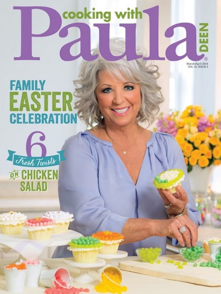 Cooking With Paula Deen Cover - 3/1/2014