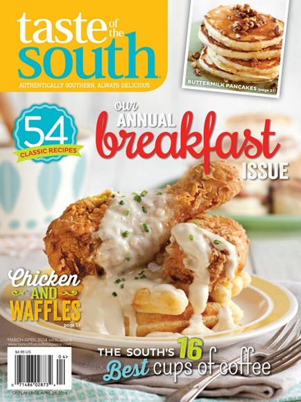 Taste of the South Cover - 3/1/2014