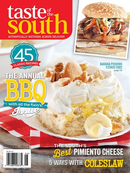 Taste of the South Cover - 5/1/2014