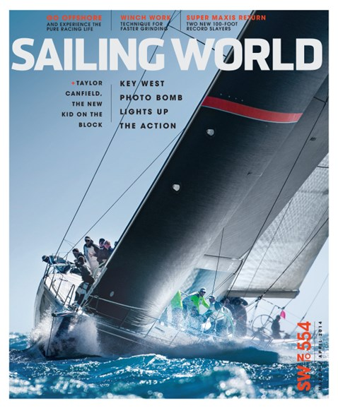 Sailing World Cover - 3/1/2014