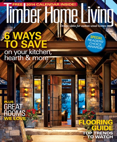 Timber Home Living Cover - 11/1/2013