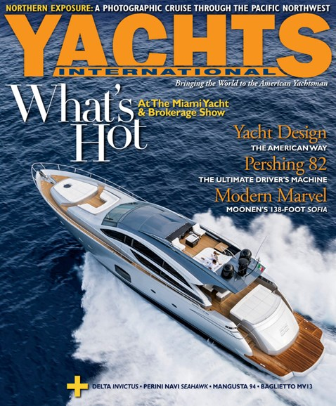 Yachts International Cover - 3/1/2014