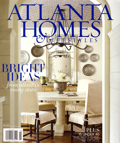 Atlanta Homes & Lifestyles Cover - 5/1/2014