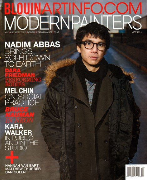 Blouin Modern Painters Cover - 5/1/2014