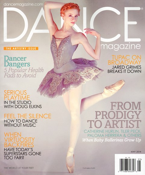 Dance Magazine Cover - 5/1/2014