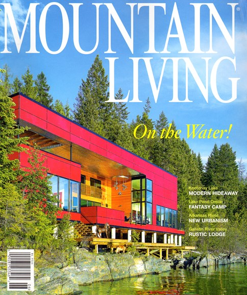 Mountain Living Cover - 5/1/2014