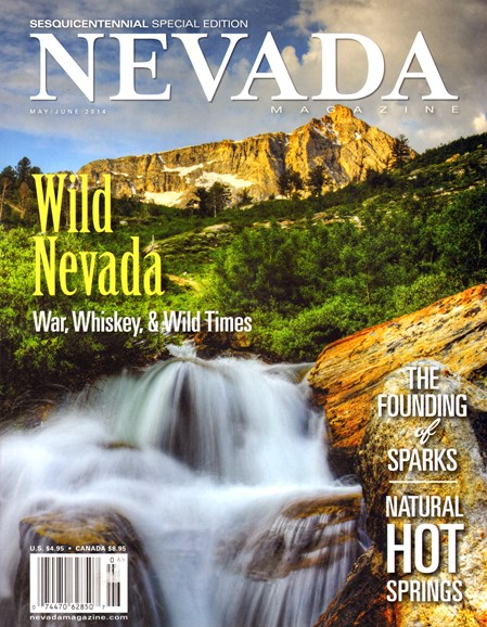 Nevada Magazine Cover - 5/1/2014