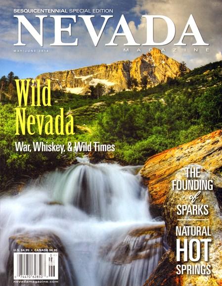 Nevada Magazine Cover - 5/1/2014