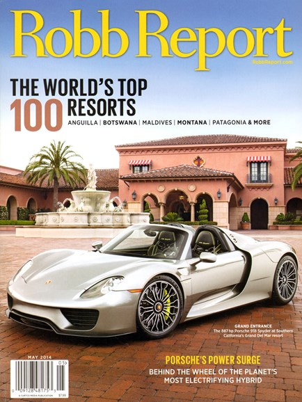 Robb Report Cover - 5/1/2014