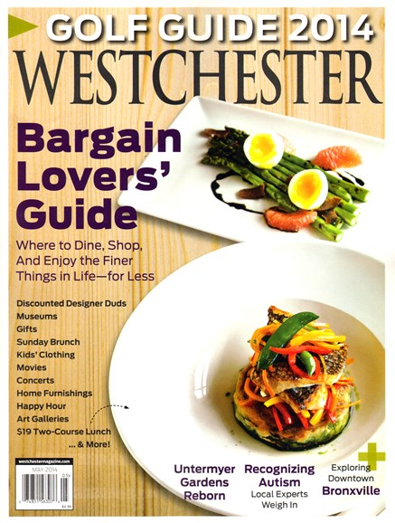 Westchester Magazine Cover - 5/1/2014