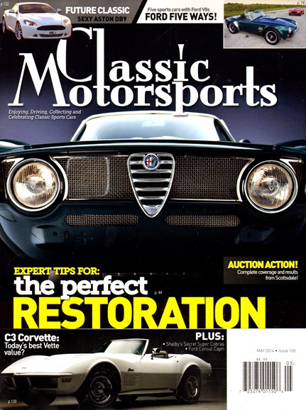 Classic Motorsports Cover - 5/1/2014
