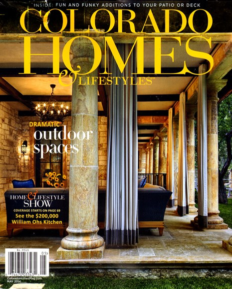 Colorado Homes & Lifestyles Cover - 5/1/2014