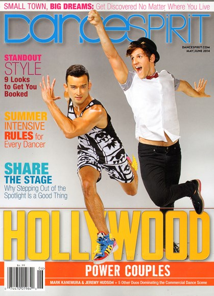 Dance Spirit Cover - 5/1/2014