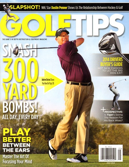 Golf Tips Cover - 5/1/2014