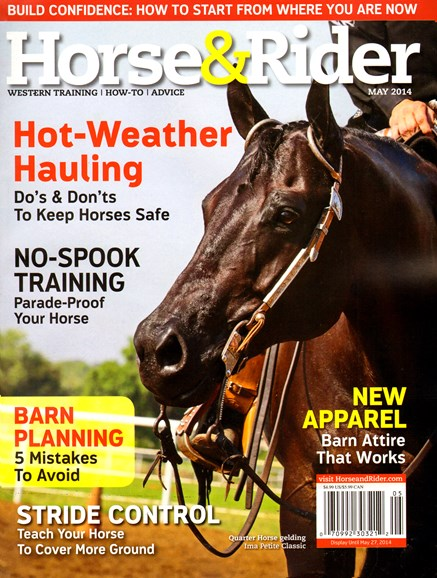 Horse & Rider Cover - 5/1/2014