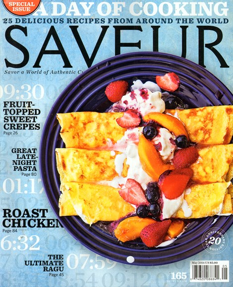 Saveur Cover - 5/1/2014