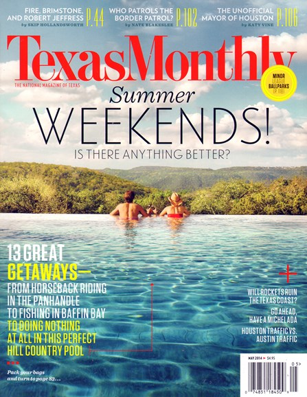Texas Monthly Cover - 5/1/2014