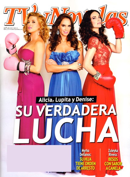 Tv Y Novelas Cover - 5/1/2014